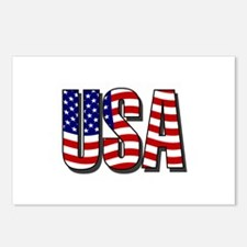 U.S.A. Postcards (Package of 8)