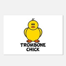 Trombone Chick Postcards (Package of 8)