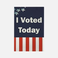 I Voted Today Rectangle Magnet