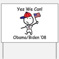 Obama - Yes We Can Yard Sign