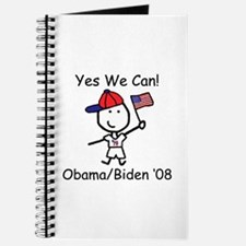 Obama - Yes We Can Journal
