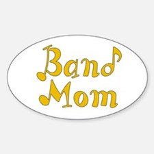 Band Mom 2 Oval Decal