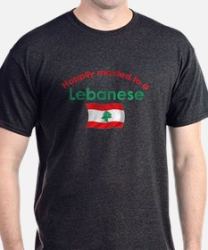 Happily Married Lebanese 2 T-Shirt