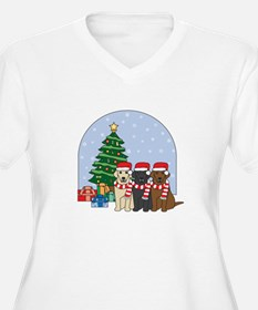 Christmas Lab T-Shirt