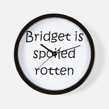 Funny Bridget Wall Clock