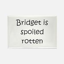 Cute Bridget Rectangle Magnet