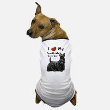 I Love My Scottish Terrier Dog T-Shirt