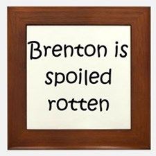 Cute Brenton Framed Tile