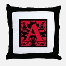 Scarlet Letter Throw Pillow