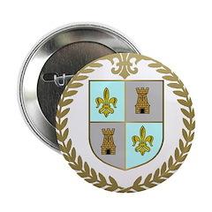"""d'ENTREMONT Family Crest 2.25"""" Button (100 pack)"""