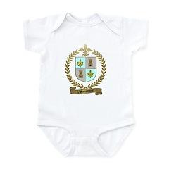 d'ENTREMONT Family Crest Infant Creeper