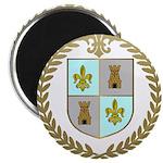 d'ENTREMONT Family Crest Magnet