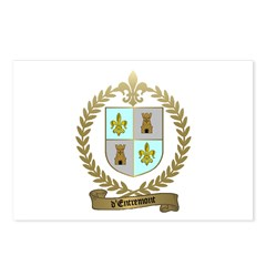 d'ENTREMONT Family Crest Postcards (Package of 8)