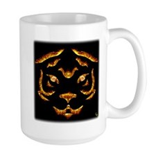 Flame Tiger Tall Mug