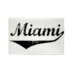 Miami Rectangle Magnet (100 pack)