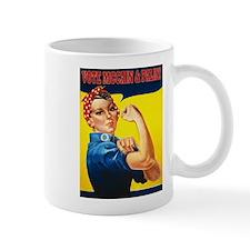 Rosie the Riverter - Vote McC Mug