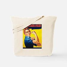 Rosie the Riverter - Vote McC Tote Bag