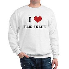 I Love Fair Trade Jumper