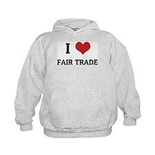 I Love Fair Trade Hoody