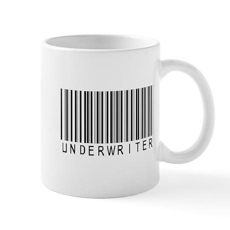 Underwriter Barcode Mug