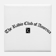 Radio Club Tile Coaster