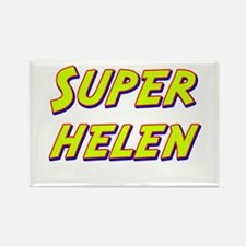 Super helen Rectangle Magnet