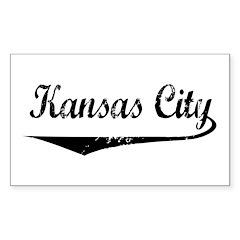 Kansas City Rectangle Decal