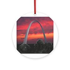 Gateway Arch - Ornament (Round)