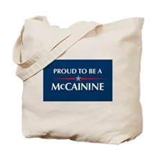 Cute Mccainine Tote Bag