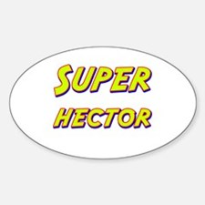 Super hector Oval Decal