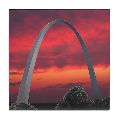 Gateway Arch - Tile Coaster