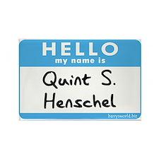 Quint S. Henschel Rectangle Magnet (10 pack)