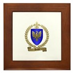 DENYS Family Crest Framed Tile
