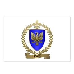 DENYS Family Crest Postcards (Package of 8)