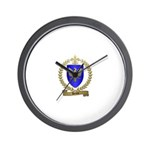 DENYS Family Crest Wall Clock