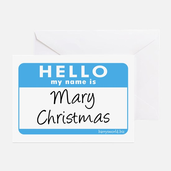Mary Christmas Greeting Cards (Pk of 20)
