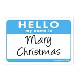 Mary Christmas Postcards (Package of 8)