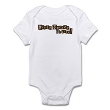 Dirty Jersey For Life! Infant Bodysuit