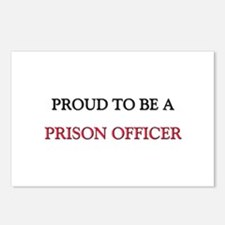 Proud to be a Prison Officer Postcards (Package of