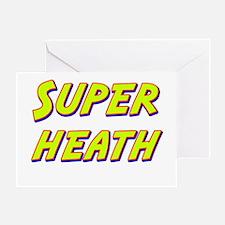 Super heath Greeting Card