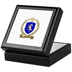 DENEAU Family Crest Keepsake Box