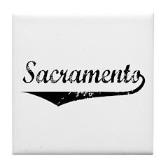 Sacramento Tile Coaster