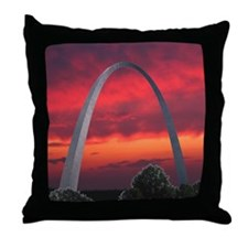 Gateway Arch - Throw Pillow