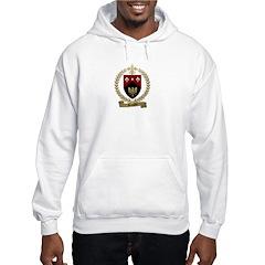 DAUPHIN Family Crest Hooded Sweatshirt