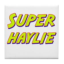 Super haylie Tile Coaster