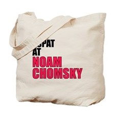 I Spat at Noam Chomsky Tote Bag