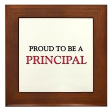 Proud to be a Principal Framed Tile