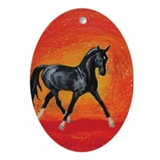 Akhal-Teke Absent Oval Ornament
