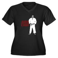 Vladimir Putin Judo Chop Women's Plus Size V-Neck