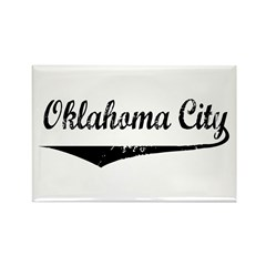 Oklahoma City Rectangle Magnet (10 pack)